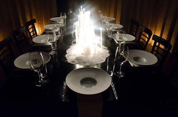 Chef Roberto Cortez Table Setting