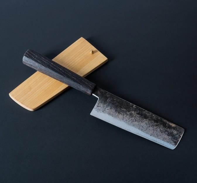 Burnt Oak Nakiri 153mm