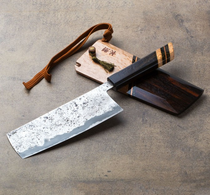 Buttoned-Up Vegetable Cleaver