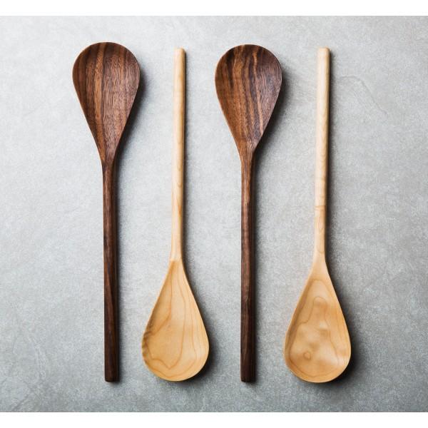 Handmade Wooden Mixing Spoon Eatingtools Com