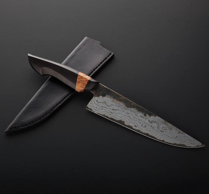 African Blackwood Gyuto 195mm