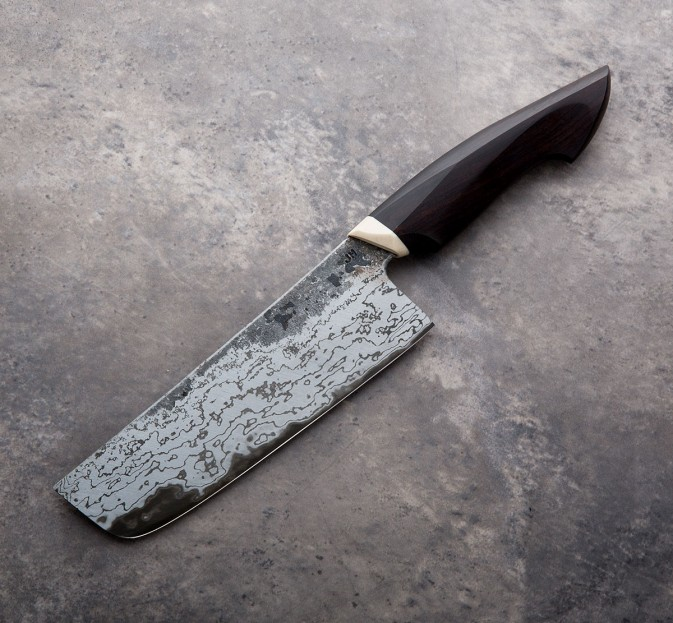 African Blackwood Nakiri 155mm