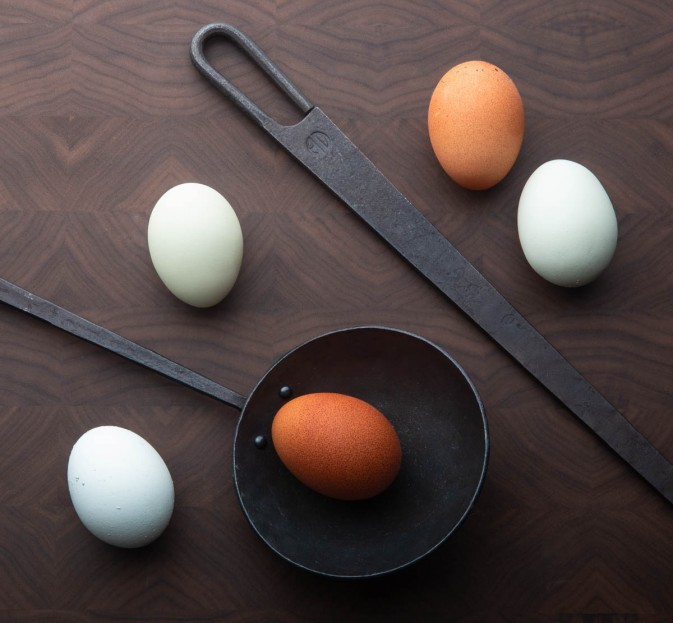 Forged Egg Spoon