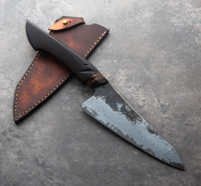 Blackwood San Mai Chef 155mm