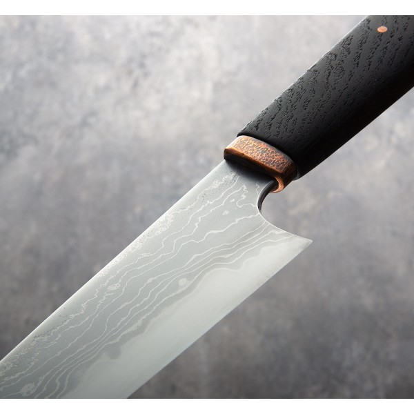 Bog Oak San Mai Gyuto 170mm Eatingtools Com