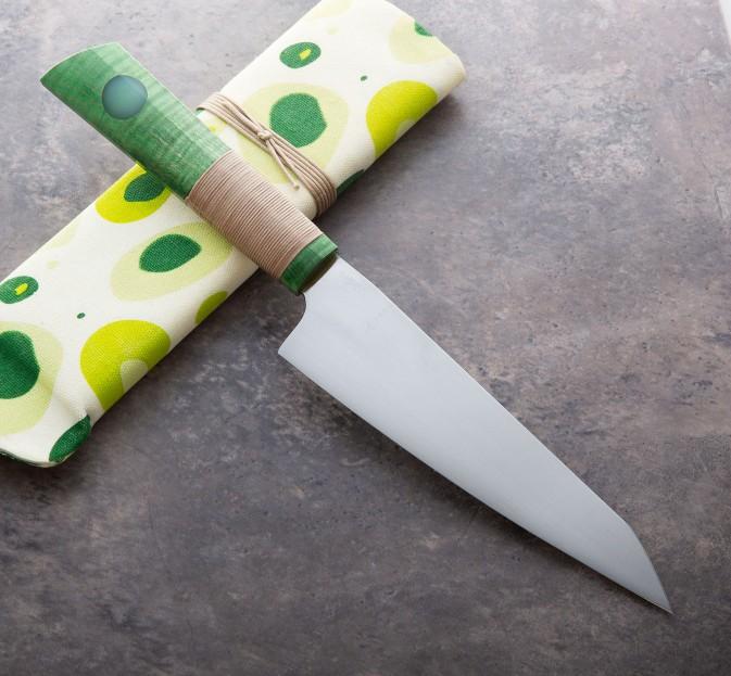 Green Stainless Kiritsuke 185mm