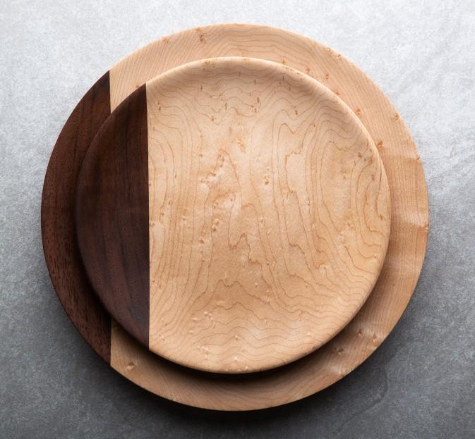 Birdseye Maple Plates