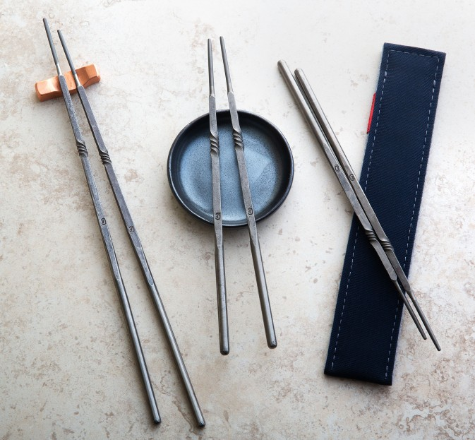Forged Titanium Chopsticks