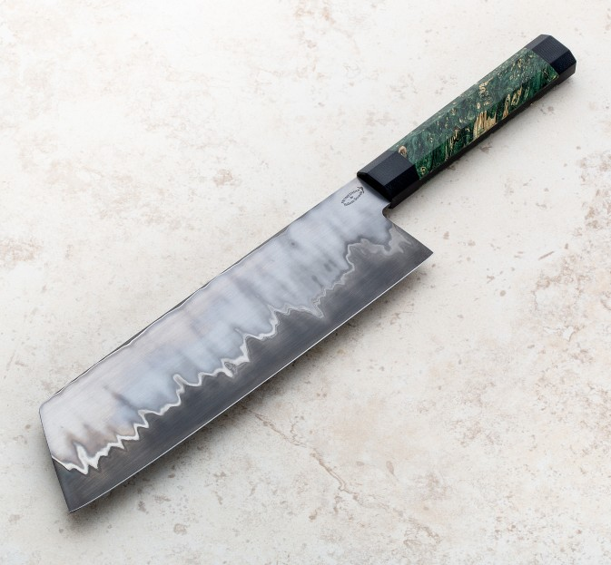 Stainless San Mai Cleaver 217mm