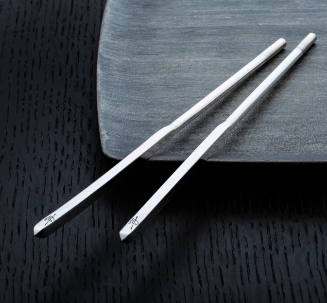 Tchin Sterling Silver Chopsticks