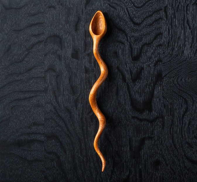 Lacewood Snake Spoon