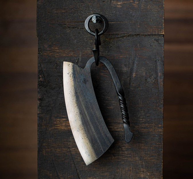 Large Forged Herb Chopper