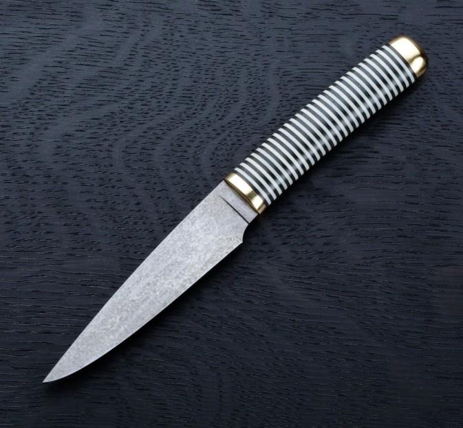 FKK Black & White Paring Knife