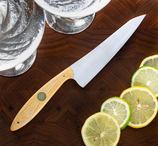 White Crane Bartender's Knife