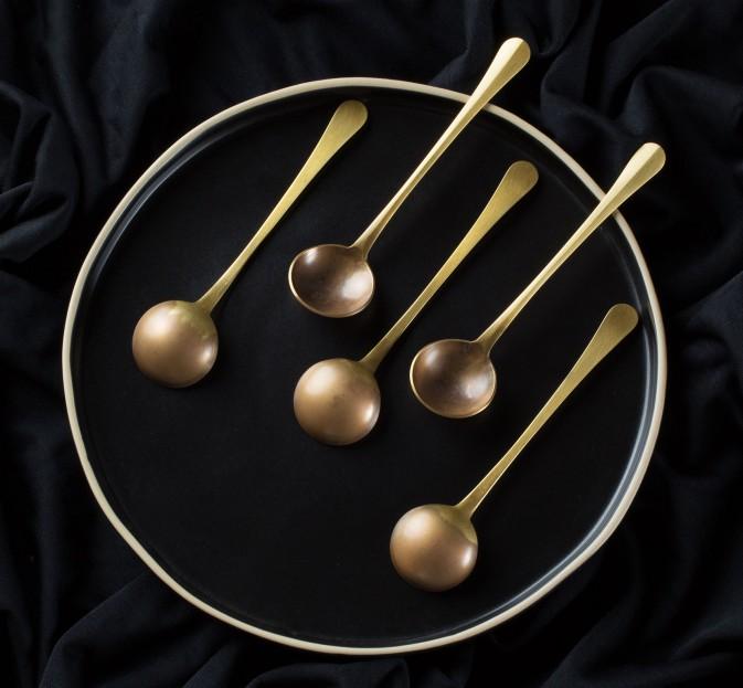 Brass Serving Spoon