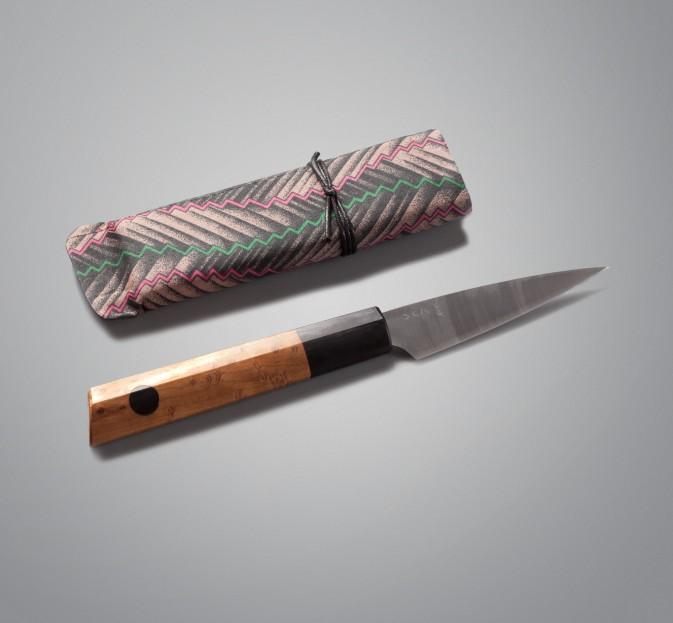 Maple & Ebony Paring Knife