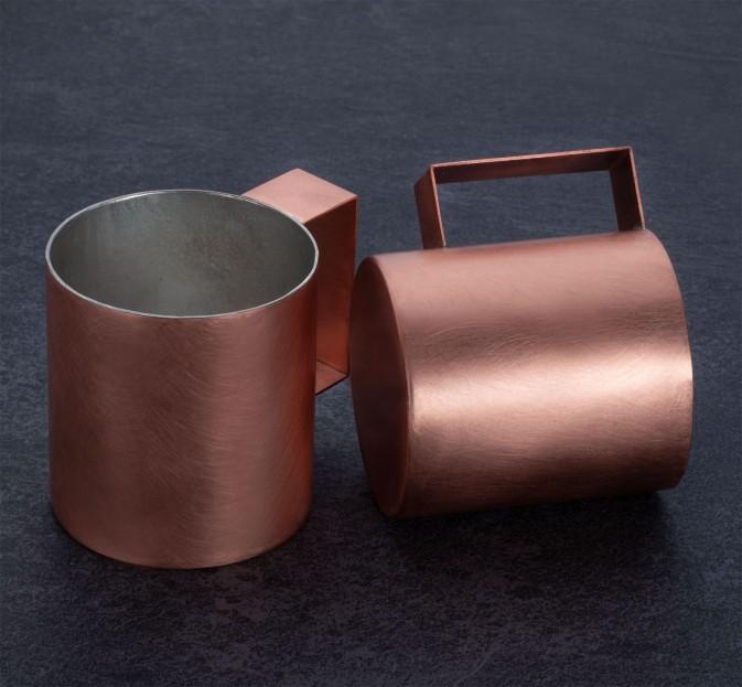 3/4 Copper Cup Set