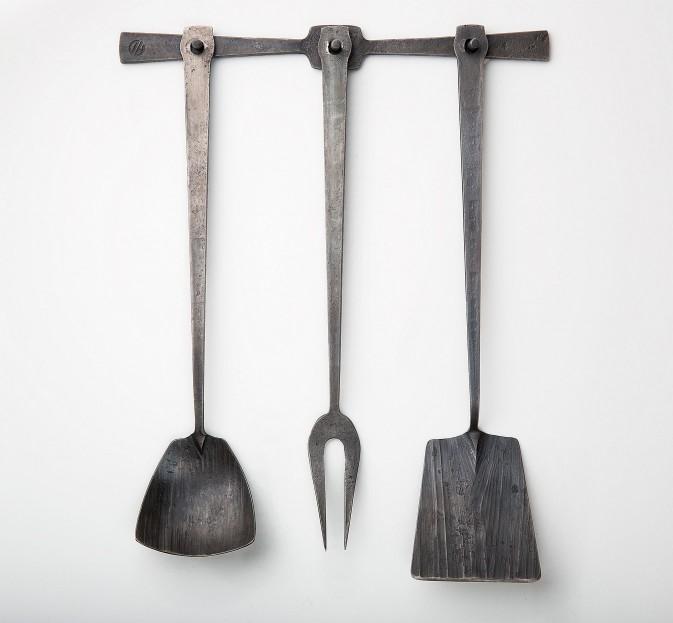 Hand-Forged Kitchen Utensil Set