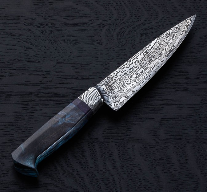 Peacock Damascus Petty 150mm