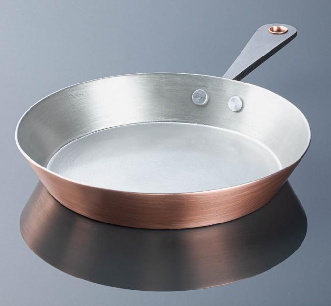 Tinned Copper Skillet