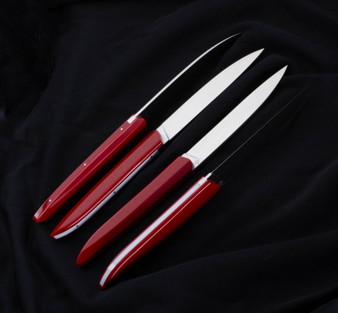 Royal Red Steak Knife Set