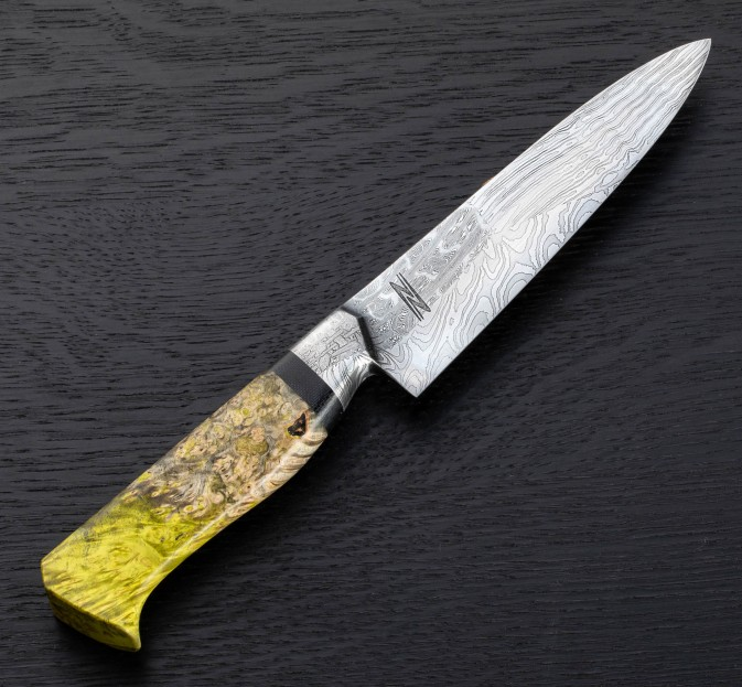 Marbled Collage Petty Chef 150mm