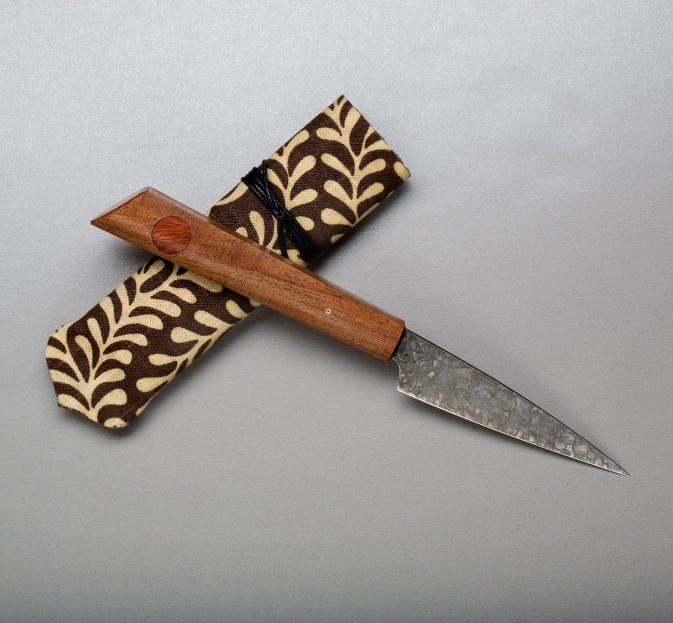 1095 Mesquite Paring Knife