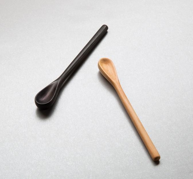 Carved Salt Spoon