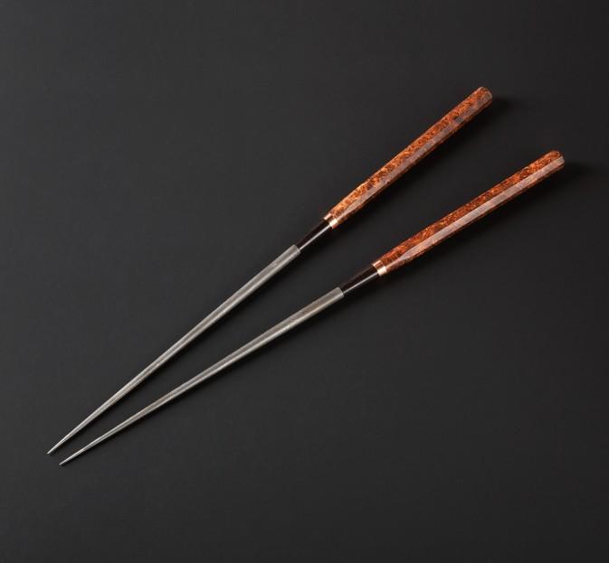 Ambroyna, Copper & Damascus Moribashi