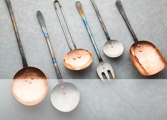 Cookware and utensils by Black Swan Handmade