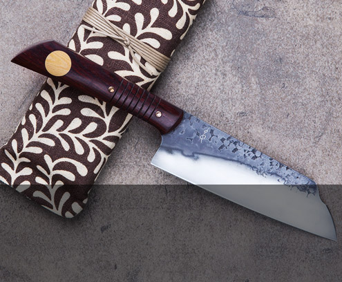 Discover world-class custom chef knives handmade by Don Andrade, Bryan Raquin, Don Nguyen,