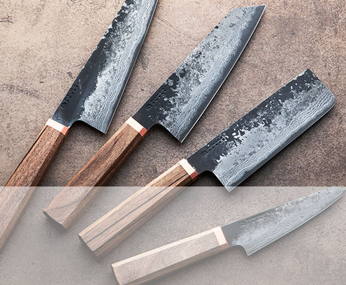Handmade custom chef knives and accessories.