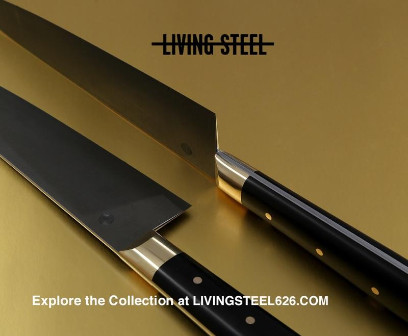 Discover the Living Steel 626 collection of fine chef knives and kitchen accessories at livingsteel626.com