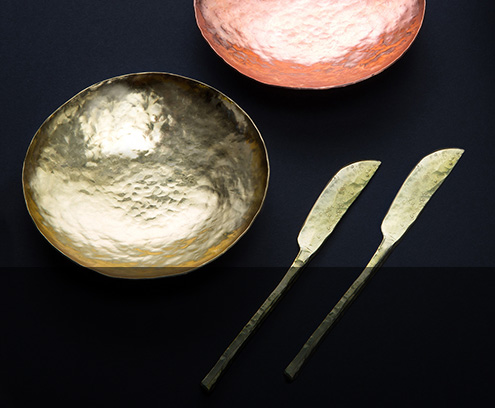 Bowls, spoons, knives, chopsticks and more handmade by artist ME Speak Design in Georgia.